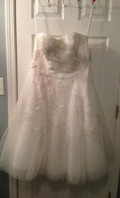 Oleg Cassini CPK437 wedding dress currently for sale at 38% off retail.