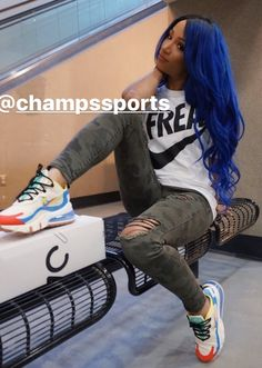 The Boss looks extremely Legit with her new shoes. At Home Workout Plan, At Home Workouts, Becky Wwe, Mercedes Kaestner Varnado, Wwe Sasha Banks, Wwe Girls, Wrestling Divas, Wwe Superstars, Nice Tops