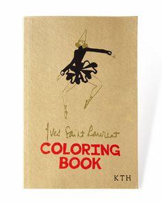 YSL+Personalized+Coloring+Book+at+Bergdorf+Goodman.