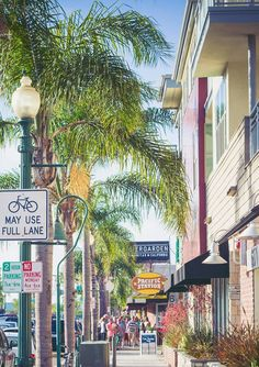 """Of the top 12 best """"main streets"""" in SoCal, 4 are in San Diego county. San Diego rocks! Encinitas"""