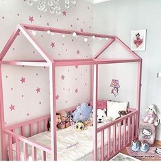 Awesome Kids Room and Kids Bedroom Ideas - Fldefensivedrivingschool Baby Bedroom, Baby Room Decor, Girls Bedroom, Baby Rooms, Toddler Rooms, Toddler Girl Bedrooms, Diy Toddler Bed, Princess Room, House Beds
