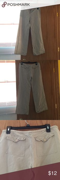 💜Linen Ankle Pants Linen material, 55% linen, 45% raylon material. Size small! voice Pants Ankle & Cropped