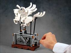 Stunning Lego Pegasus actually moves