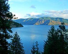 Lake Pend Oreille from Garfield Bay, Idaho.