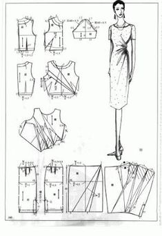 Chinese method of pattern making- Dresses, dresses,dresses ( beginning from the 80s) - SSvetLanaV - Álbumes web de Picasa by margret