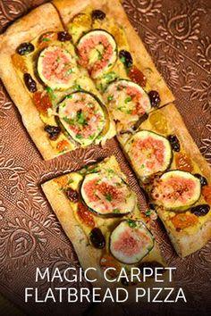 Magic Carpet Flatbread Pizza