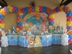 Ba Shower In 2020 Care Bear Birthday Care Bear Party regarding Carebear Birthday Party - Party Supplies Ideas Birthday Party Images, Bird Birthday Parties, First Birthday Decorations, Birthday Ideas, Care Bear Birthday, Care Bear Party, Care Bears, Baby Shower Princess, Party Party