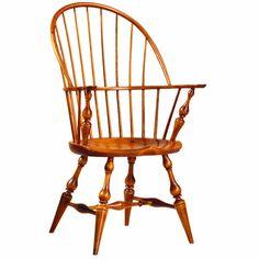 D.R.DIMES Windsor Chairs Bowbacks & Sack-Backs - Bowback Arm Windsor Chair