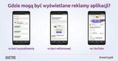 Reklamy aplikacji - gdzie mogą być wyświetlane?