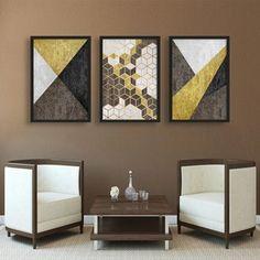 Collage Design, Diy Canvas Art, Basket Decoration, Living Room Art, Wall Art Designs, Geometric Shapes, Diy Art, Interior Design, Abstract