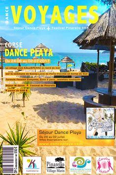 Voyages - Dance Playa 2017 Séjour -   DANCE & PLAYA Corse.  du Samedi 24 Juin au Lundi 3 Juillet 2017...