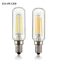 Vintage Edison Bulb LED Light E14 T25 4W Energy Saving 400Lumen Retro Lamp Bulb Chandelier Lighting Pure Warm White AC220V #neli