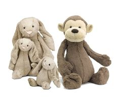 Jellycat just makes the softest, sweetest stuffed animals ever! My daughter sleeps with her Jellycat Bashfu...