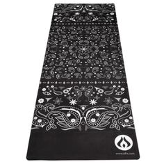 Black Bandana Fusion Mat - Available only in the USA