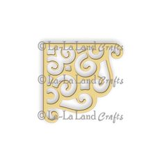 La-La Land Crafts - Die - Scroll Corner,$12.95
