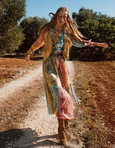 Vogue Paris, Emmanuelle Alt, Coachella Festival, Mode Plus, Short En Jean, Boho Fashion, Fashion Trends, Fashion Vintage, Fashion Styles