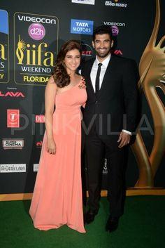 Aditya Roy Kapur & Parineeti Chopra at IIFA Awards 2014 2