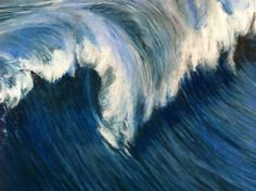 Saatchi Online Artist: Stephen Finkin; Pastel, 2013, Drawing Wave Series 9