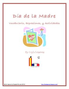 $ Celebrate Mother's Day in you Spanish class!