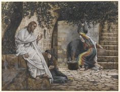 Mary Magdalene at the Feet of Jesus : James Tissot : Free Download & Streaming : Internet Archive