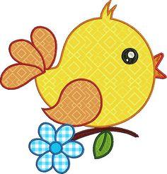 Bumble Bee Bee Digital apliques-aproximado de 4 x 4 5 x 5 6 x by CherryStitchDesign Bird Applique, Bird Embroidery, Applique Embroidery Designs, Machine Embroidery Applique, Applique Patterns, Quilt Patterns, Felt Animal Patterns, Stuffed Animal Patterns, Motifs D'appliques
