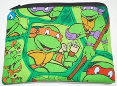 Teenage Mutant Ninja Turtles Zipper Pouch  Comic Books by meanlook