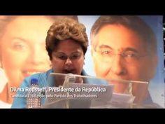 Dilma reconhece trabalho e elogia Michel Temer, em evento em MG