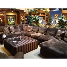 Robert Michael sectional. We just bought it and LOVE it!!! Most comfortable couch EVER!