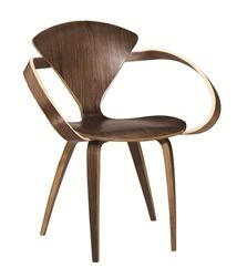 Normen Chair Modern Wooden Arm Chair