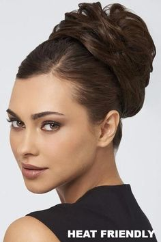 Shop the Sale Wigs Section on VogueWigs from Raquel Welch, Gabor, Hairdo, Rene of Paris, and Jon Renau. High Bun Hairstyles, Older Women Hairstyles, Spring Hairstyles, Trending Hairstyles, Cool Hairstyles, Teenage Hairstyles, Hairstyle Ideas, Swedish Blonde, Loose Updo