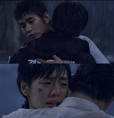 Secretly Greatly Kim Soo Hyun-Lee Hyun Woo. Fall with your brother. I was crying so hard at this part!!