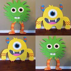 Little Monters Board Cutouts handpainted Little Monster Birthday, Monster 1st Birthdays, Twins 1st Birthdays, Monster Birthday Parties, 1st Boy Birthday, First Birthday Parties, Birthday Party Themes, Birthday Ideas, Monster Theme Classroom