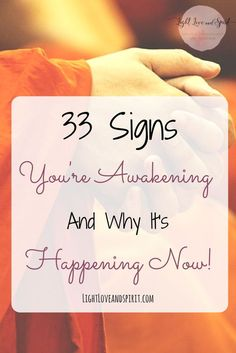 What the some signs and symptoms of awakening. When do we go through awakenings? Why is your awakening happening now?