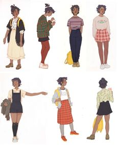 blue's outfits