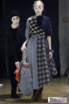 Counting Stone Sheep for an Eliza Doolittle take on Gingham