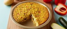 Aquafaba is often used in vegan baked goods as an egg substitute. It's great in recipes that need a little fluff, like this tofu and veggie frittata.