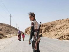 A Yazidi Girl fighting for her family
