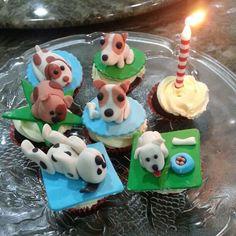 Doggies Cupcakes