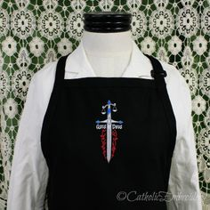 Catholic Cuisine: New St. Michael Apron and Giveaway!