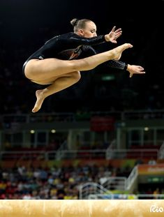 Sanne Wevers of the Netherlands during Balance Beam Finals