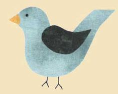 Several free bird patterns to use as shapes for appliqué, quilting or clip art