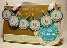 Paper Pumpkin Gift Bags with Dude You're Welcome {scrap and stamp with mary}: Stampin' Addicts Hidden Treasures Blog Hop