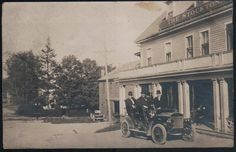 The Stockton circa 1920s, Stockton Springs, Maine.