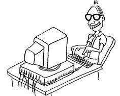 O cara da informática