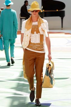 Burberry Prorsum Spring 2015 Menswear - Collection - Gallery - Look 1 - Style.com