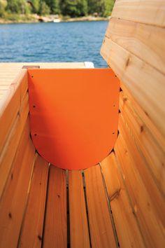 DIY Outdoor Storage Benches