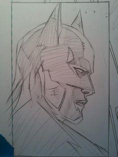 Really good batman drawing
