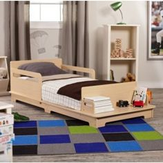 Love this Kidkraft Modern Toddler Bed! #ZoostoresPIN2WIN