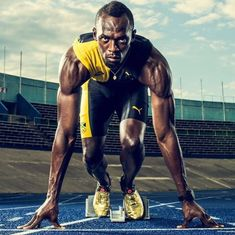 Hero (Archetype - - The little thins - Event planning, Personal celebration, Hosting occasions Usain Bolt Olympics, Senior Superlatives, Zapatos Nike Air, Nike Track And Field, Long Jump, Olympic Athletes, Fastest Man, Moda Emo, Sport Man