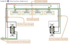 25 great 4 way light images electrical wiring, electricalwiring diagram for 3 way switch with multiple lights